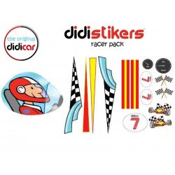 Pegatinas Didistickers Racer Pack