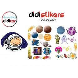 Pegatinas Didistickers Rocket Pack