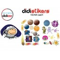 Pegatinas Didistickers Rocket Pack