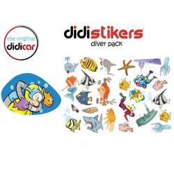 Pegatinas Didistickers Diver Pack