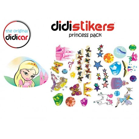 Pegatinas Didistickers Princess Pack