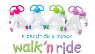 Correpasillos Didicar Walk'n Ride a partir de 9 meses